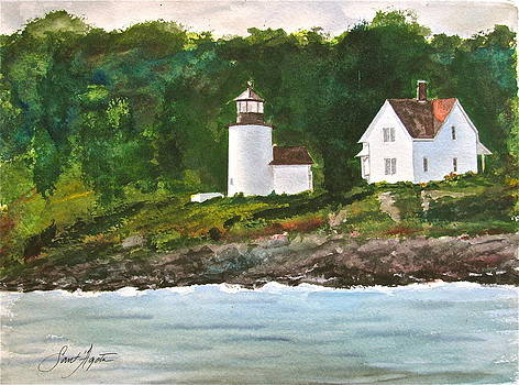 Frank SantAgata - Curtis Island Light