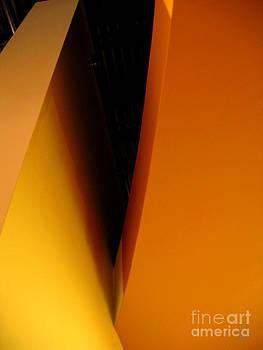 Curves orange by Leela Arnet