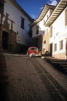 Cusco Peru VW Beetle by Alex Hinds