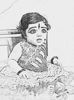 Cute Baby by Athul Hareendran