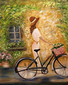 Cycling Saunter by Ann Iuen