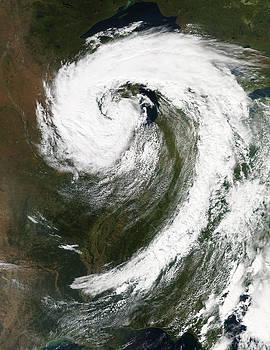 Padre Art - Cyclone Over Lake Michigan