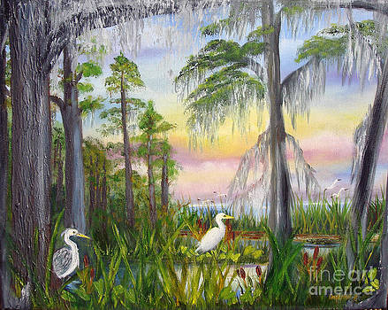 Cypress Sunrise by Darlene Green