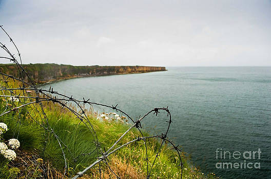 D-Day - Pointe Du Hoc by Steven Van Gucht