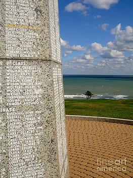 Danielle Groenen - D-Day Beach Memorial