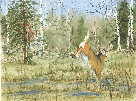 Dad's Hill City Buck by Bud Bullivant