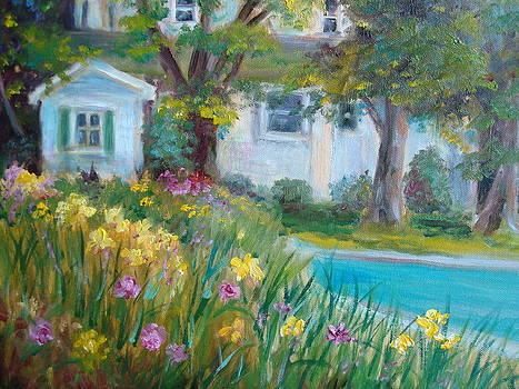 Daffodil Garden by Holly LaDue Ulrich