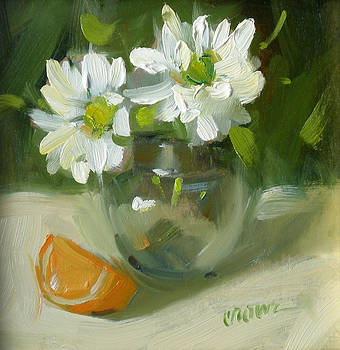 Daisies by Judy Crowe