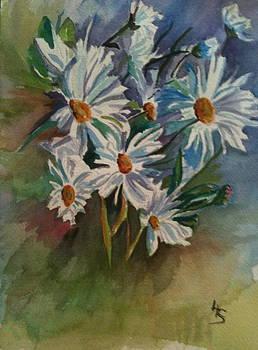 Daisies by Linda L Stinson