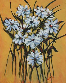 Daisies by Pauline  Kretler