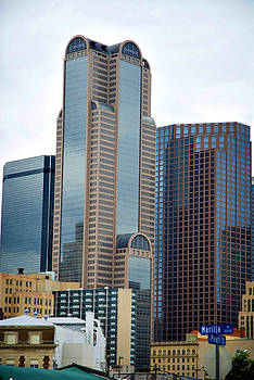 Dallas Buildings by Laurianna Murray