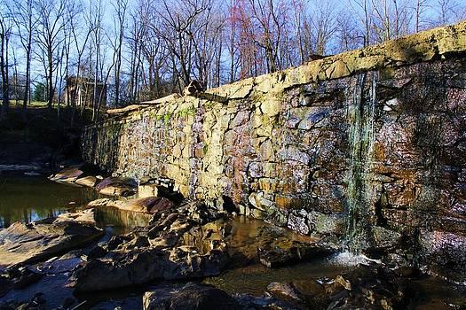 Dam On The River Haw by Bob Whitt