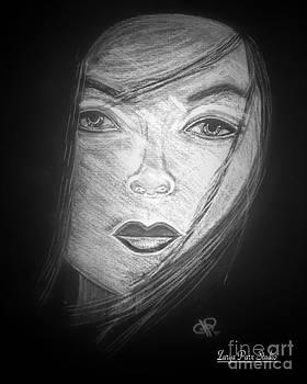Dame Noir Portrait by Zarya Parx  Studio