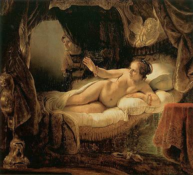 Rembrandt Harmenszoon van Rijn  - Danae