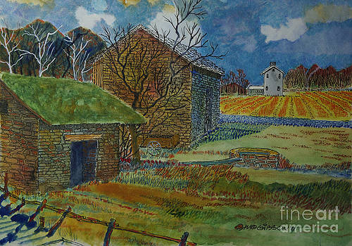 Danby Farm by Donald McGibbon