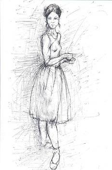 Dancer by Jovica Kostic