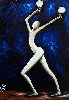 Dancer of light  by Simona  Mereu