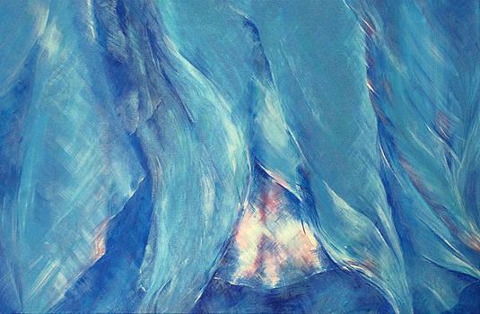 Sue Pownall - Dancers in blue