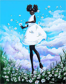 Dancing Among the Daisies by Jerome White