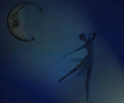 Dancing by moonlight by Hazel Billingsley