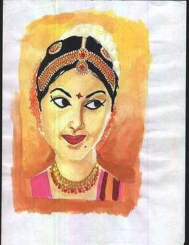 Dancing Girl by Pawan Saini