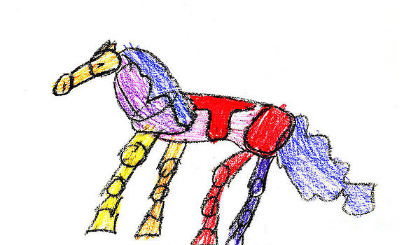 Dancing Horse by Natalie by John Clawson