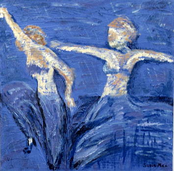 Dancing in the Blue by Susan McLean Gray