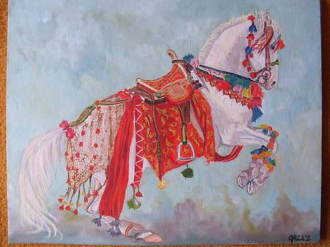 Dancing Nukra by Zorka Velickovic