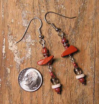 Dangle Earrings by Elizabeth Carrozza