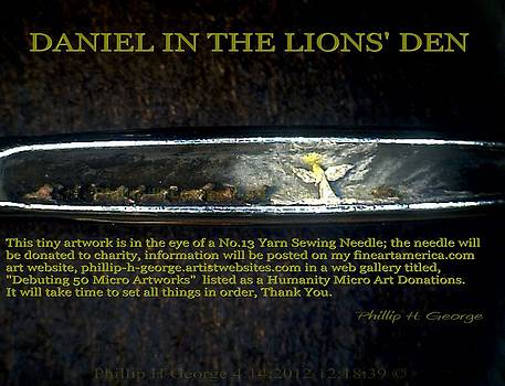 Phillip H George - DANIEL IN THE LION