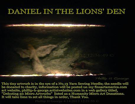 Phillip H George - Daniel In The Loin