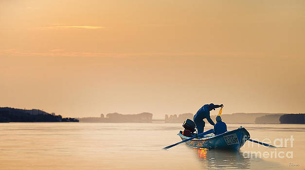 Danube River by Evmeniya Stankova