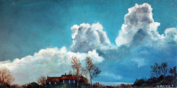 Dark Clouds by Robert Harvey