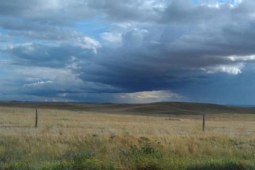 Dark Clouds by Sandi Owens
