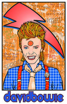 David Bowie by John Goldacker