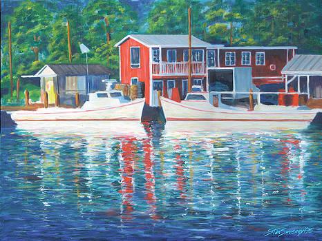 Davis Creek Marina by Stan Sweeney
