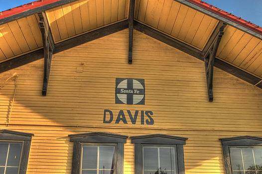 Davis Depot by Terry Hollensworth-Rutledge