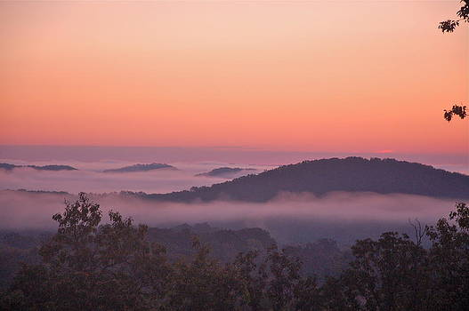 Dawn Over The Ozarks by Larry Bodinson