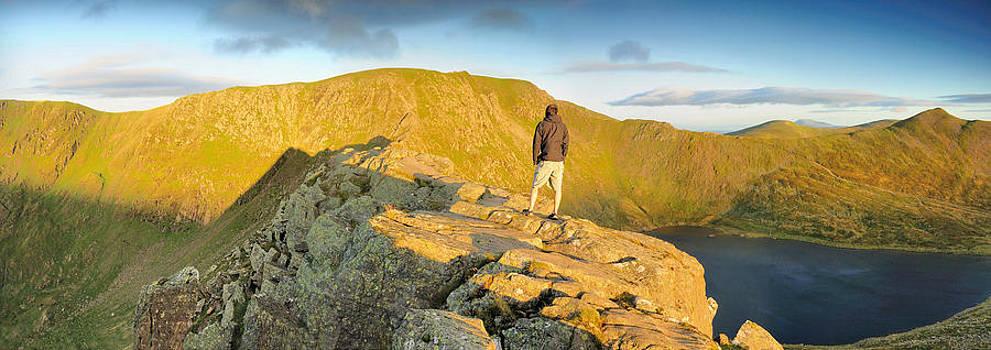 Dawn Striding Edge by Stewart Smith