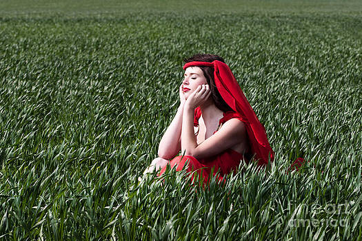 Cindy Singleton - Day Dreams Woman in Red Series