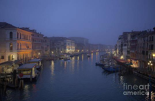 Daybreak in Venice by Bela Torok