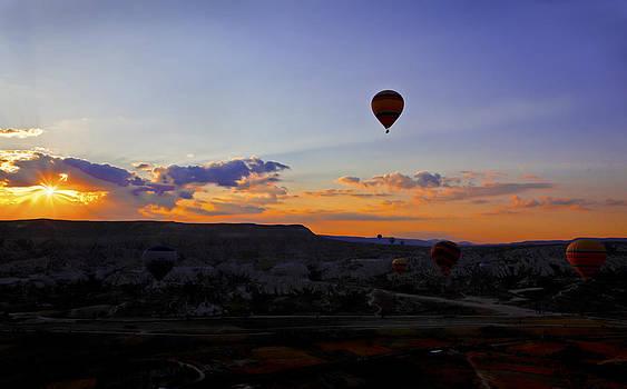 Kantilal Patel - Daybreak over Cappadocia