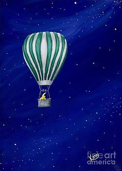 Daydreaming in a Hot Air Balloon by Kerri Ertman