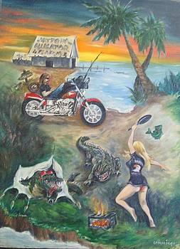 Daytona alligators by John Cummings
