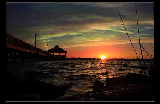 Daytona Sonset by Ormond Beach Video