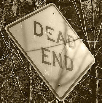 Dead End Sepia Tone by Sarah Reed