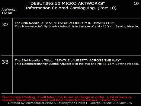 Phillip H George - Debuting 50 Micro Artworks Part 10