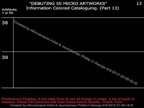 Phillip H George - Debuting 50 Micro Artworks Part 13