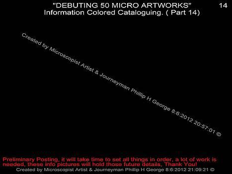 Phillip H George - Debuting 50 Micro Artworks Part 14