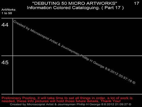 Phillip H George - Debuting 50 Micro Artworks Part 17